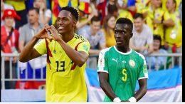 Curiosa actitud de senegalés en gol de Colombia conquista las redes sociales 8aed6d2977761