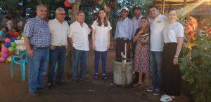 La Senadora Ruby Chagui acompañó a los ganaderos y a la comunidad durante el acto de inauguración