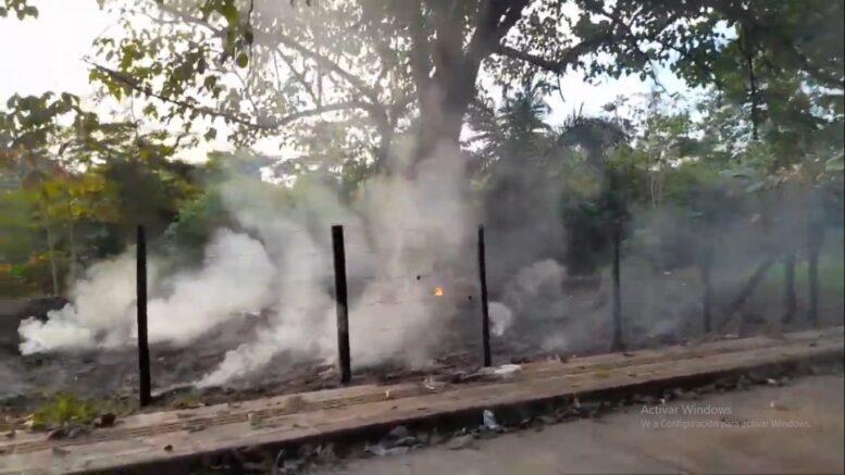 Continúa la quema indiscriminada en humedal de Montelíbano – Chicanoticias.com