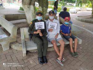 """Policía de Córdoba celebró el """"Día del Padre en tranquilidad"""" - Noticias de Colombia"""